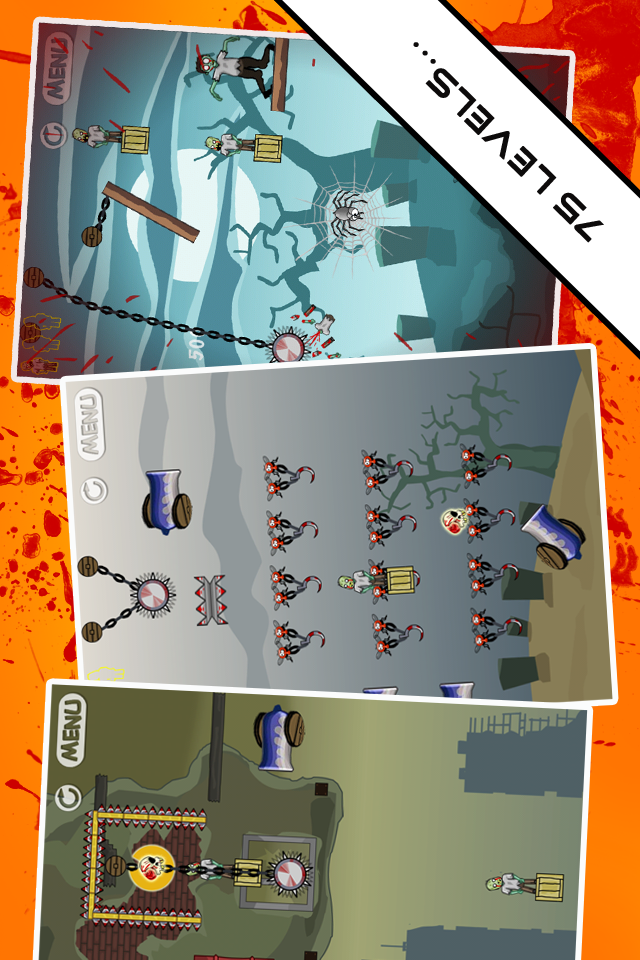 Screenshot Angry Zombie Zone