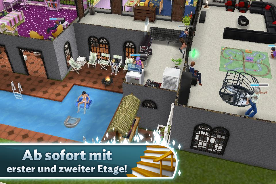 Die Sims™ FreiSpiel iPhone, iPad Screenshot